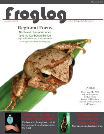 download the FrogLog 96 - Amphibian Specialist Group