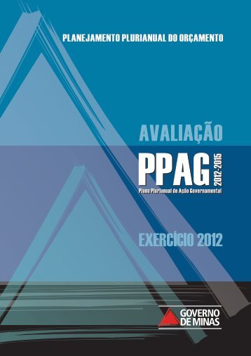 Relatório anual de avaliação – exercício 20112 - Secretaria de ...