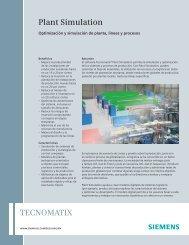 Plant Simulation (Mexican Spanish) - Siemens PLM Software