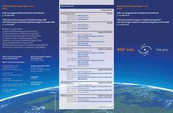 Download der Ankündigung (PDF 217 KB) - WOC®2010 Berlin 5
