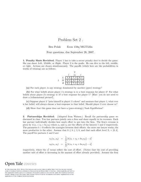 Problem Set 2 [PDF]