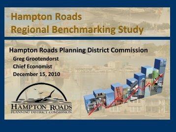 Hampton Roads Regional Benchmarking Study