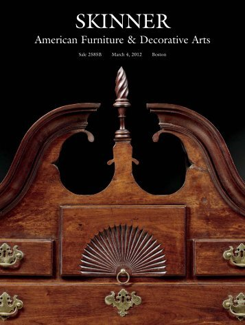 SKINNER American Furniture & Decorative Arts