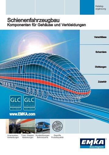 Schienenfahrzeugbau - EMKA Beschlagteile
