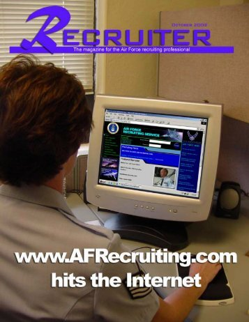 October Recruiter - Air Force Recruiting Service