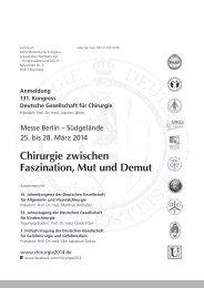 Anmeldung - 131. Kongresses der Deutschen Gesellschaft für ...