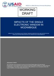 WORKING DRAFT - Support Program for Economic and Enterprise ...