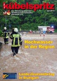 Wir sind für Sie da - Feuerwehr Pforzheim