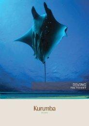 Diving Factsheet - Kurumba Maldives