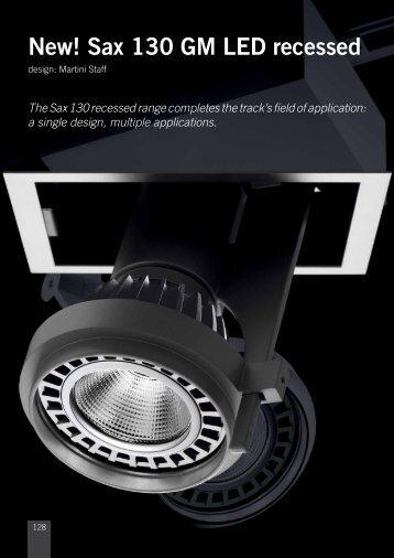 New! Sax 130 GM LED recessed - Martini