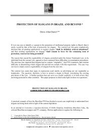 protection of slogans in brazil and beyond - Daniel Advogados
