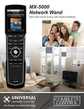 MX-5000 Network Wand - Universal Remote Control