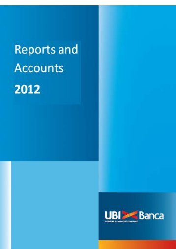 2012 Consolidated Financial Report - UBI Banca