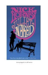 Read the first chapter of Juliet, Naked by - Penguin Books