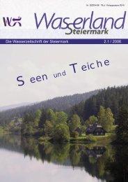 Seen Teiche - Wasserland Steiermark
