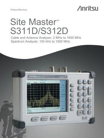 Anritsu S311D/S312D - ELSINCO