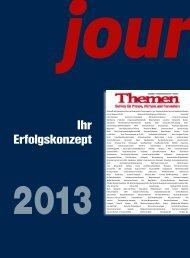 Verlagsbeilagen - Journalist