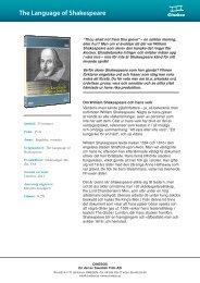 The Language of Shakespeare - SLI.se