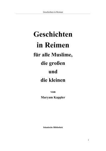 Geschichten in Reimen für alle Muslime, die großen ... - Way to Allah