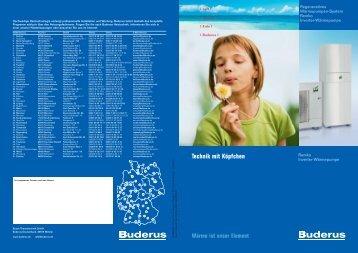 Remko Inverter-Wärmepumpe - Buderus