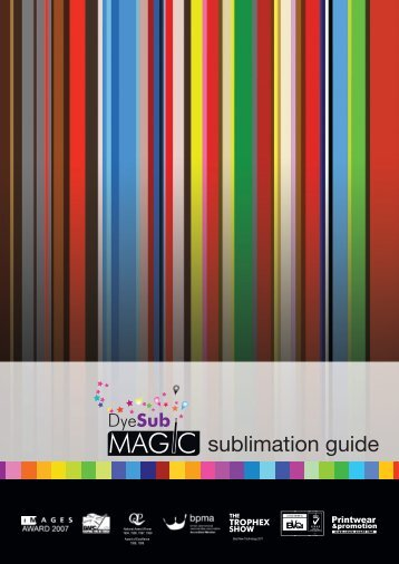 sublimation guide - TheMagicTouch