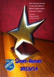 Sport-Report Nr. 6 - SV 1924 Glehn eV