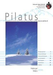 Februar März 2008 - SAC Sektion Pilatus