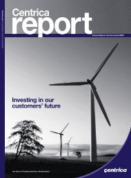 2005 Annual Report in PDF - Centrica