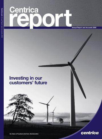 2005 Annual Report in PDF - Centrica