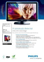 32PFL5605H/12 Philips LCD TV, Pixel Plus HD - LCD és plazma TV ...