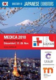MEDICA 2010 - メッセ・デュッセルドルフ・ジャパン