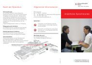 Patienten-Flyer - Universitätsspital Basel