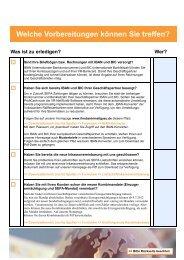 Checkliste für Unternehmer und Vereine mit Lastschrifteinzug
