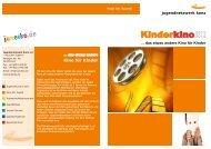 Mit dem Kino für Kinder bietet das Haus der Jugend Konz ... - JuNetKo