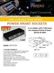 14. Aerpro Power Smart Sockets