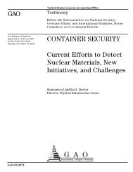GAO-Container Security.pdf - Security Management