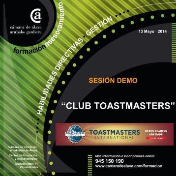 Sesion club Toastmasters