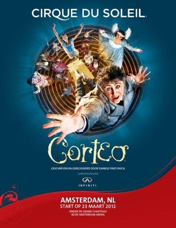 AMSTERDAM, NL - Cirque du Soleil