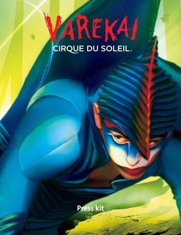 Press kit - Cirque du Soleil