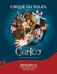 barcelona, es opens january 19, 2012 - Cirque du Soleil