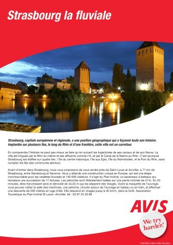 Strasbourg la fluviale - Avis