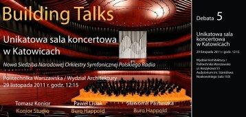 Building Talks - Buro Happold