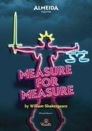 by William Shakespeare - Almeida Theatre