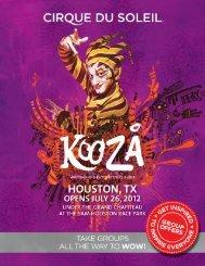 houston, tx - Cirque du Soleil