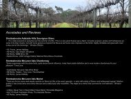 Accolades and Reviews - McLaren Vale