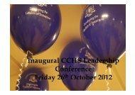 Leadership Conference Presentation