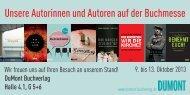 Autoren_auf_der_Buchmesse_ Frankfurt.pdf - Dumont Buchverlag