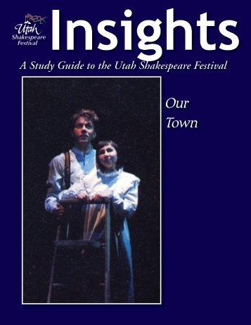 Our Town - Utah Shakespearean Festival
