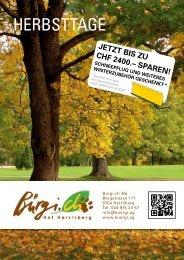 JETZT BIS ZU CHF 2400.– SPAREN! - bürgi.ch Hof Herrliberg