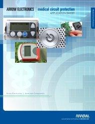 Medical Circuit Protection brochure - Arrow Electronics